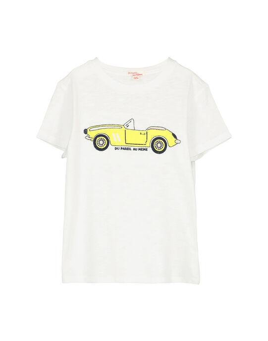 Tee-shirt voiture garçon FOPOTI / 19S902C1TMC000
