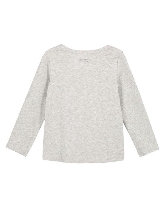 Tee Shirt Manches Longues Gris chiné GAESTEE3 / 19W901U3D32943