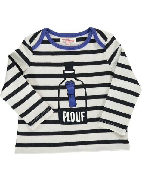 Tee-shirt manches longues bébé garçon CUBENTEE / 18SG10G1TML099