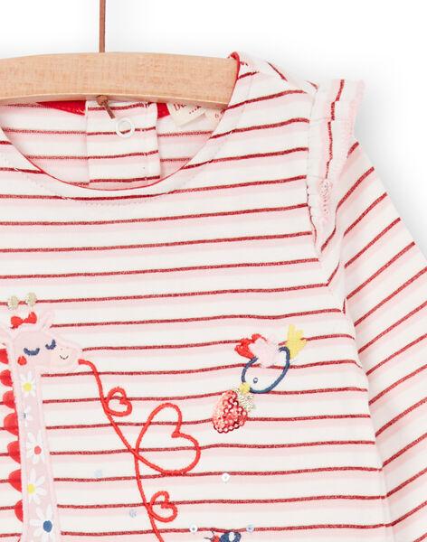 Tee Shirt Manches Longues Ecru LICANTEE / 21SG09M1TML001
