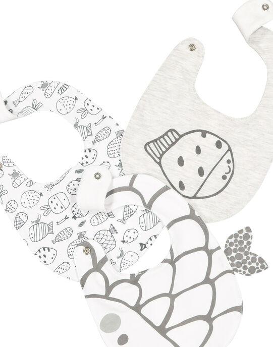 Lot de bavoirs bébé mixtes FOU1BAV / 19SF4211BAV943