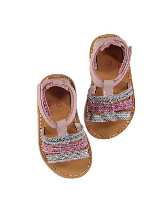 Sandale ville cuir bébé fille FBFSANDISA / 19SK37K2D0E030