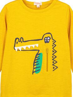 Tshirt manches longues Ocre GOMUTEE3 / 19W902F2TMLB116