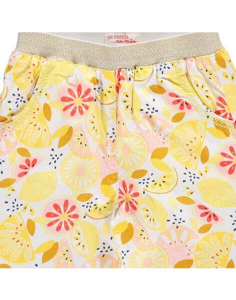 Pantalon imprimé bébé fille CIPIPAN / 18SG09I1PAN099