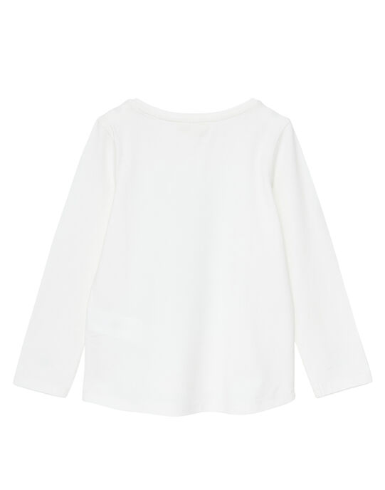 Tee Shirt Manches Longues Ecru JAJOTEE3 / 20S90144D32001