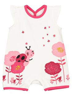 Dors-bien short bébé fille imprimé nature FEFIGRETHE / 19SH13H6GRE000