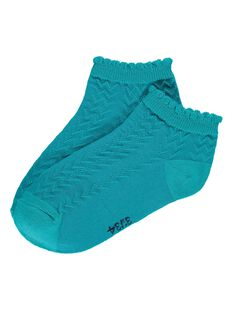 Chaussettes basses fantaisie fille CYAJOCHO8A / 18SI01S1SOQ202