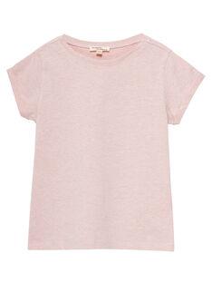 Tee Shirt Manches Courtes Rose JAESTI2 / 20S90162D31D328