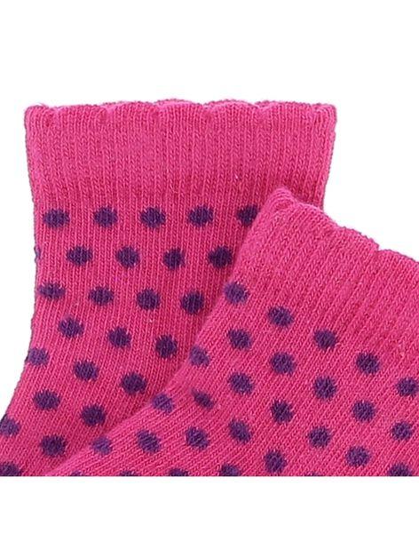 Chaussettes mi-hautes bébé fille CYIJOCHO10A / 18SI09S7SOQ099