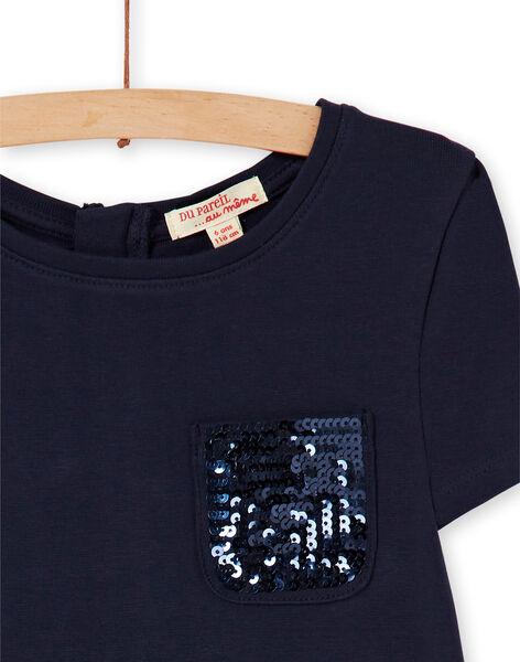 Robe Bleu nuit LAJOROB2 / 21S90134D2FC205