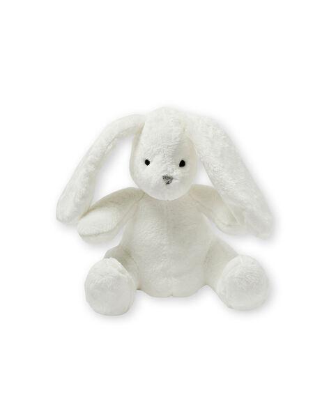 Doudou lapin blanc en velours LOU1DOU2 / 21SF42H3JOU000