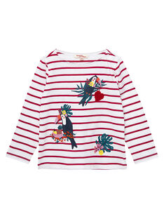 Tee Shirt Manches Longues Ecru JACLOTEE1 / 20S90111TML001