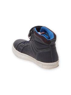 Basket Bleu marine MOBASGI / 21XK3672D3F070
