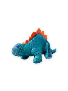 Peluche dinosaure motif camouflage bleue JDino Camou / 20T8GG11PE2099
