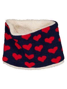 "Snood avec des motifs ""cœurs""  GYATRISNOO / 19WI01J1SNO070"