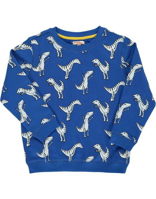 Sweat Shirt Bleu DOSWEAT3 / 18W90283SWEC209