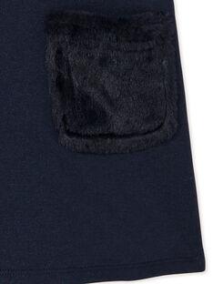 Robe fourrée manches courte à paillettes KASAROB3 / 20W901O3ROB070