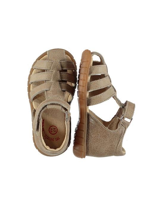 Sandale ville cuir bébé garçon FBGSANDFET / 19SK38C2D0E080