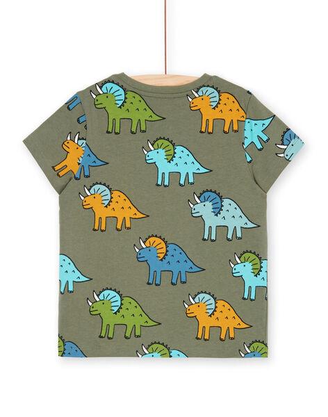 Tee Shirt Manches Courtes Vert LOVERTI4 / 21S902Q2TMCG631