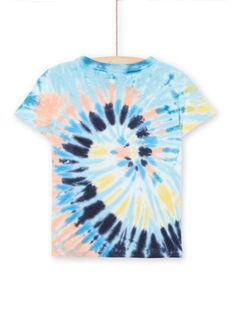 Tee Shirt Manches Courtes Bleu LOBONTI1 / 21S902W2TMCC201
