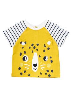 Tee Shirt Manches Courtes Jaune  JUTROTI2 / 20SG10F1TMCB114