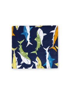 Serviette Bleu marine LYOMERSERVEX / 21SI02D2SRV070