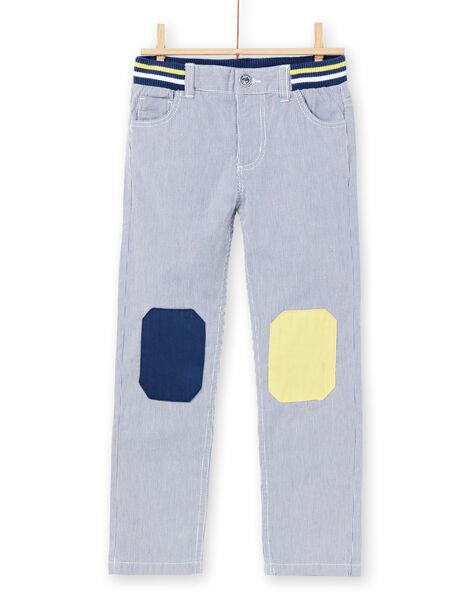 Pantalon Bleu marine LONAUPAN / 21S902P1PAN070