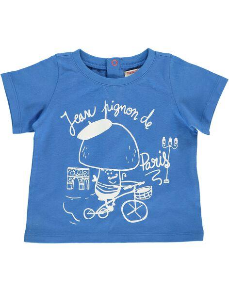 Tee-shirt manches courtes bébé garçon CUJOTI1 / 18SG10R1TMC201