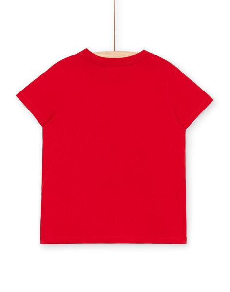 Tee Shirt Manches Courtes Rouge LOJOTI9 / 21S902F3TMC050