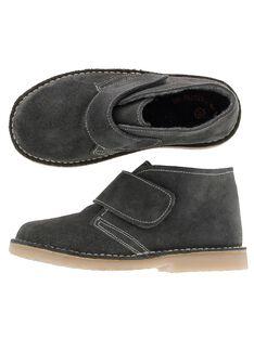 Boots en cuir garçon DGBOOTERS2 / 18WK36T6D0D940