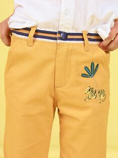 Pantalon Jaune LOJAUPAN / 21S902O1PAN107