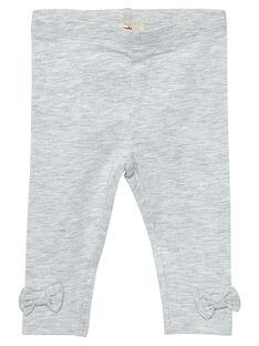 Legging gris clair bébé fille JYIESLEG2 / 20SI0961D26J920