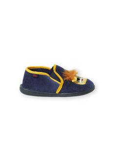 Slippers Bleu marine KGSGLION / 20XK3684D0B070