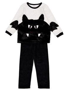 Pyjama Halloween en velours enfant garçon GEGOPYJHAL / 19WH12NCPYJJ920