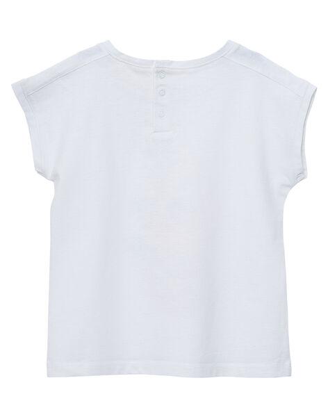 T-shirt écru à imprimé fruité JAVITI / 20S901D1TMC001
