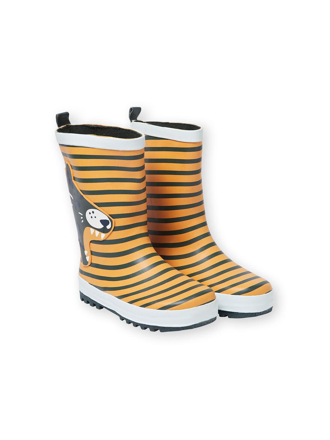 bottes de pluie caoutchouc garcon 32