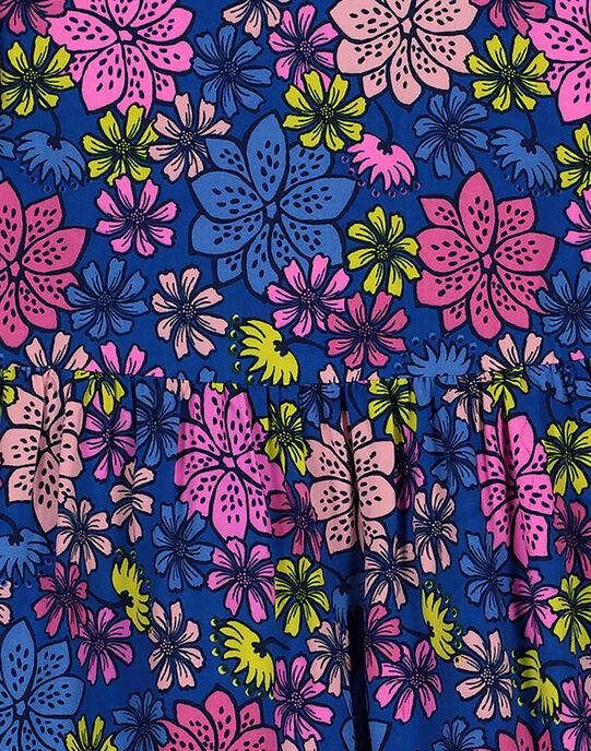 Robe imprimé fleuri fille GABLEROB1 / 19W90192ROB707