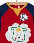 Ensemble T-shirt à motif mouton et legging rayé bébé garçon MUMIXENS / 21WG10J1ENS505