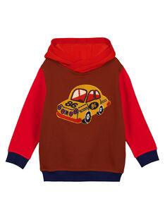 Sweat Shirt à Capuche Tricolore GOSANSWE / 19W902C1SWE817