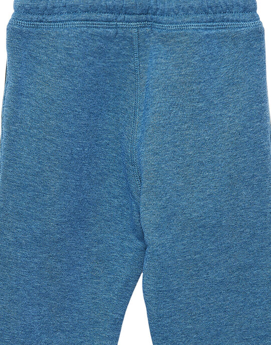 Jogging garçon bleu chine JOJOJOB3 / 20S90253D2AC206