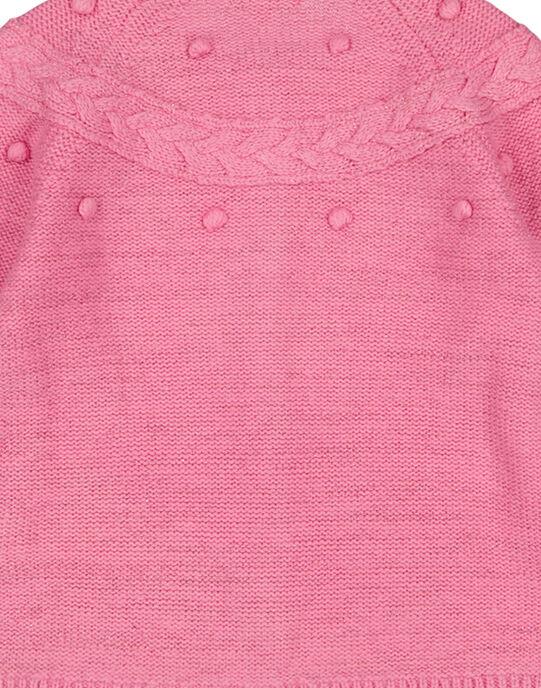 cardigan rose en lurex GABLACAR1 / 19W901S2CARD330