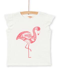 Tee Shirt Manches Courtes Ecru LAJOTI3 / 21S90132D31001
