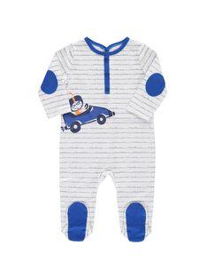 Dors-bien en coton bébé garçon CEGUGREBOL / 18SH1455GRE099