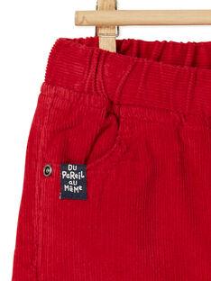 Pantalon velours côtelé KUJOPAN3 / 20WG1053PANF528