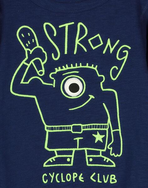 Tee-shirt manches longues garçon FONETEE2 / 19S902B1TML070