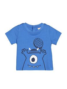Tee-shirt manches courtes bébé garçon FUJOTI4 / 19SG1034TMC201