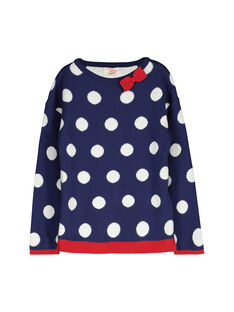 Pull fantaisie fille FACOPULL2 / 19S90182PUL703