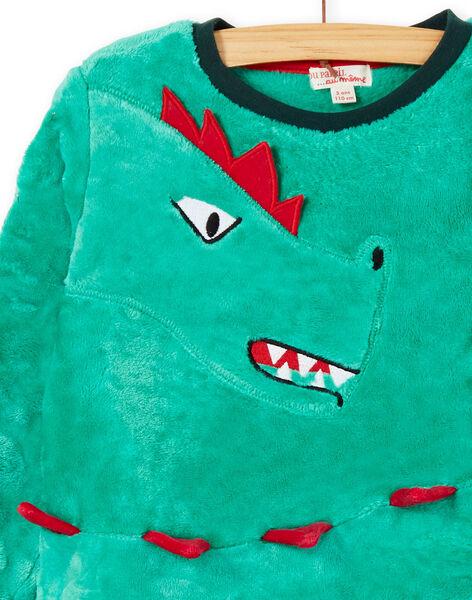 Pyjama enfant garçon motif dragon KEGOPYJDRA / 20WH12C8PYJG627