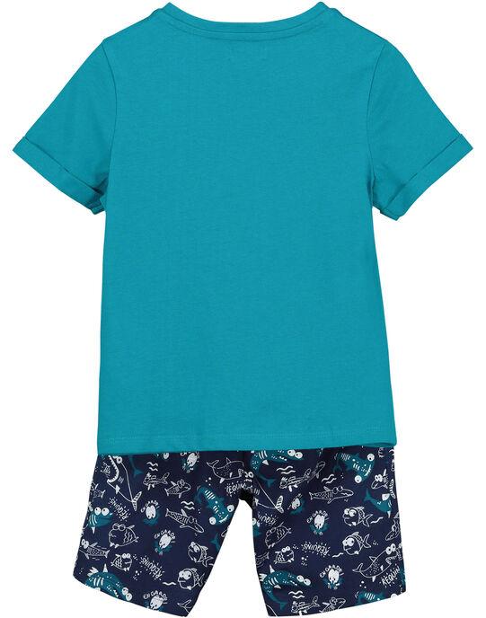 Ensemble tee-shirt et short garçon FOPLAENS3 / 19S902P3ENS210