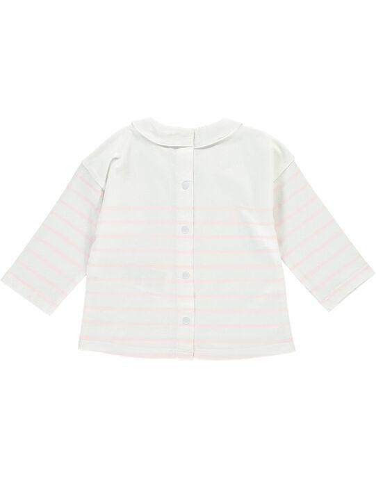 Tee-shirt manches longues bébé fille CCFTISHIRT1 / 18SF03B1TML000